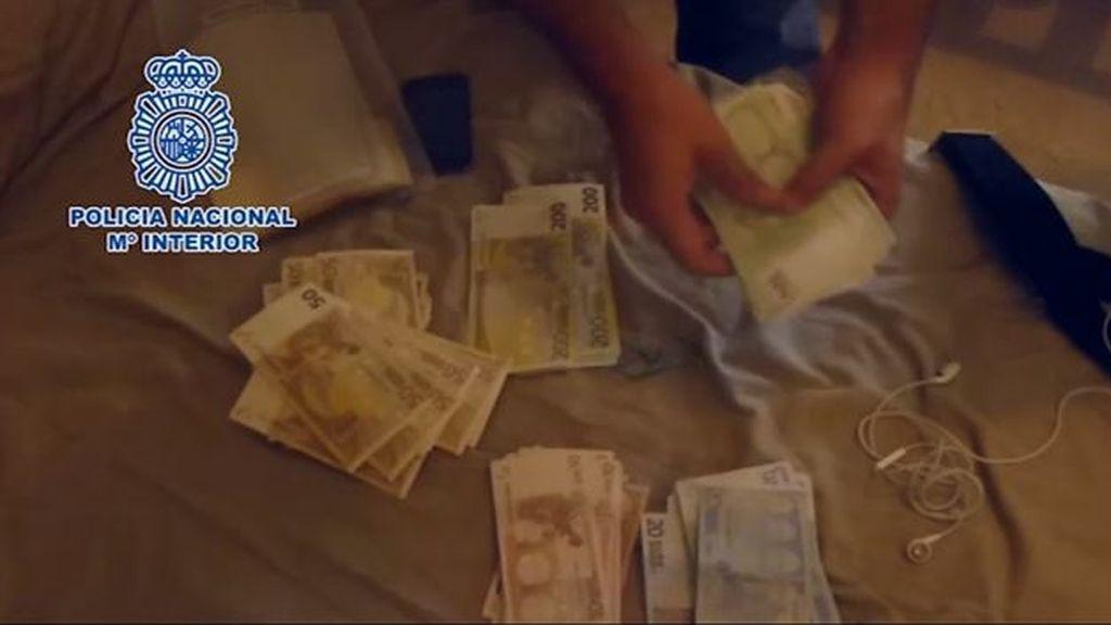 Detenidos tres miembros de un grupo internacional dedicado al tráfico de hachís