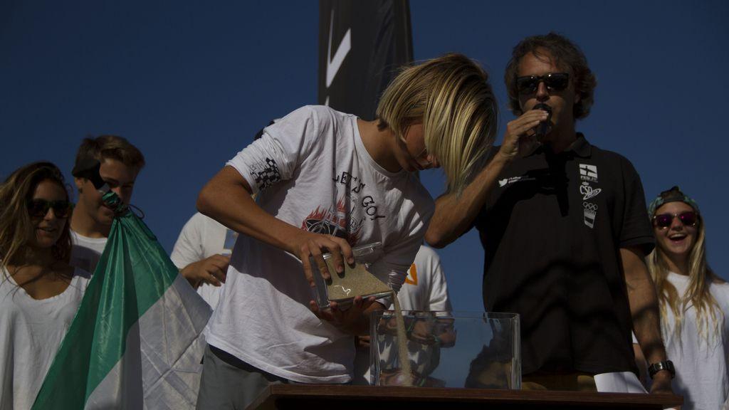 Ceremonia de inauguración del Campeonato de España de Surf