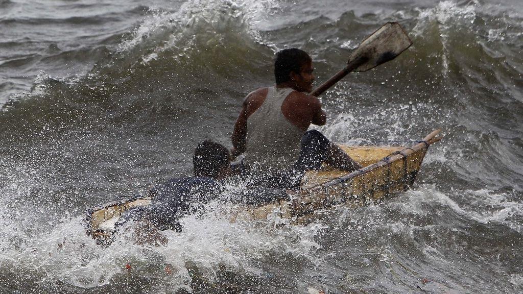 Alerta máxima en el litoral sureste de China ante la llegada del tifón 'Usagi'