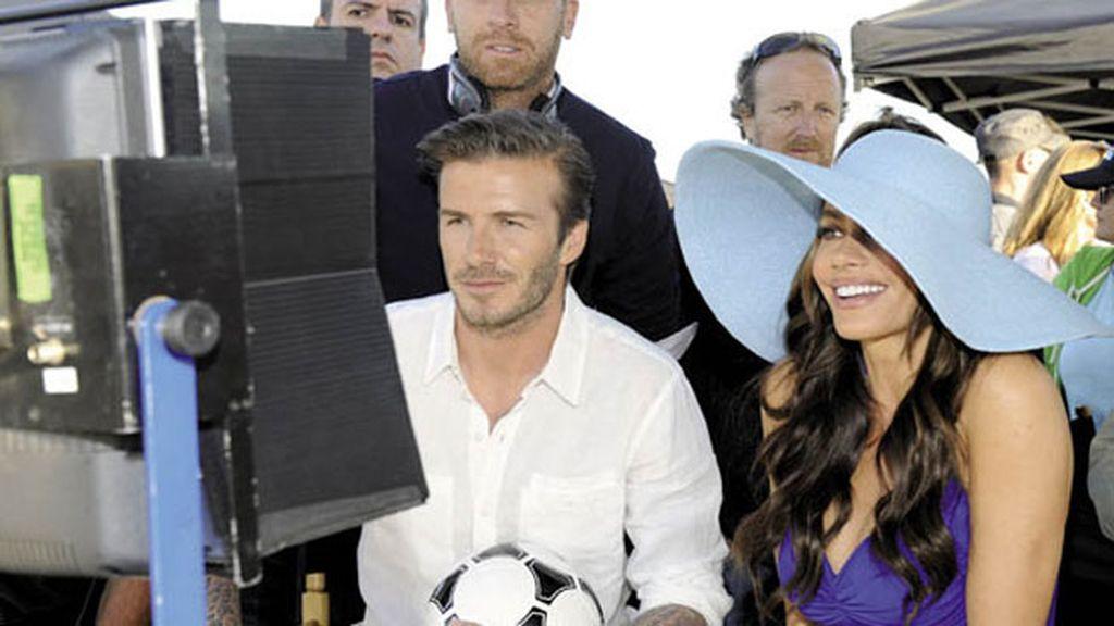 Beckham y Sofía Vergara prefieren Pepsi