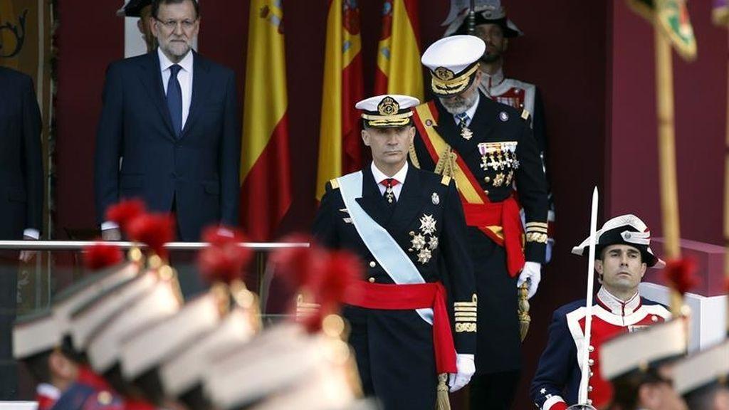 Tercer desfile para Felipe VI