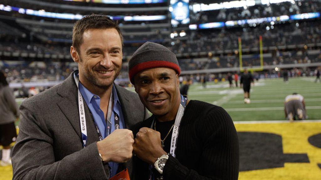 Reunión de celebrities en la Super Bowl