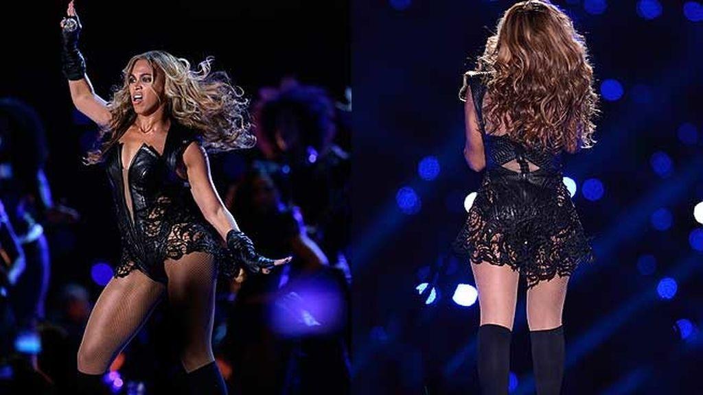 Cantó en directo y estuvo acompañada por sus excompañeras de Destiny's Child