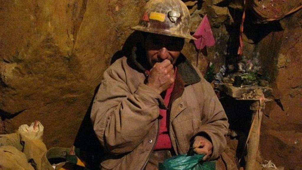 Un minero come
