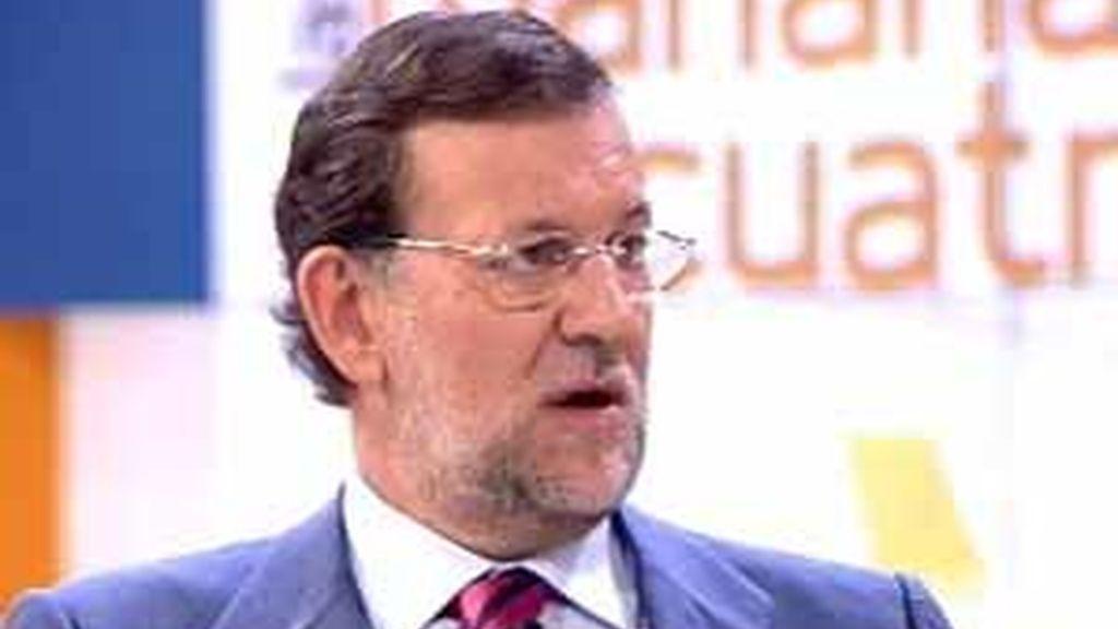 Rajoy en Cuatro