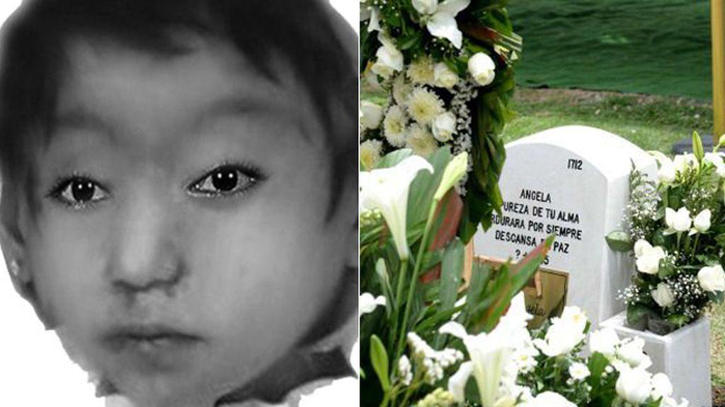 Entierran a la niña que encontraron muerta dentro de una maleta en México