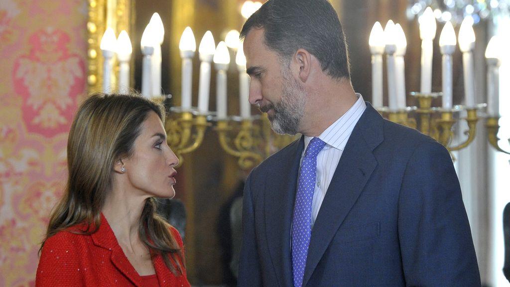 Príncipes de España: Felipe de Borbón y Letizia Ortiz