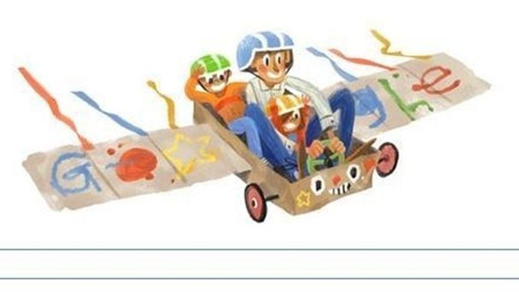 doodle, google, Día del padre