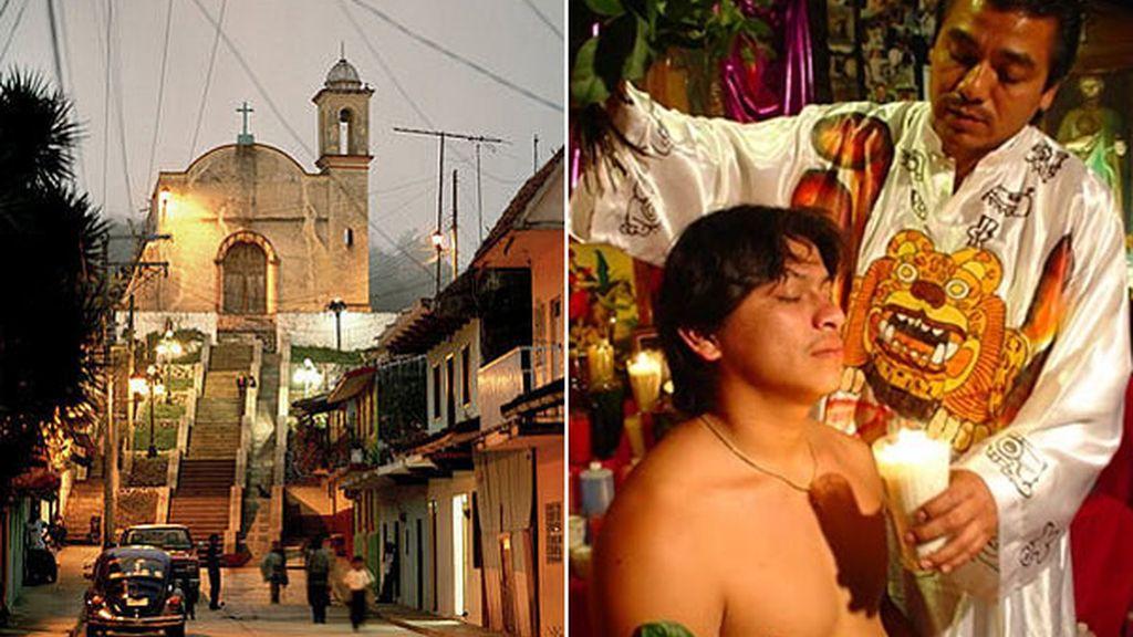 Catemaco, Veracruz (México). Ritos santeros