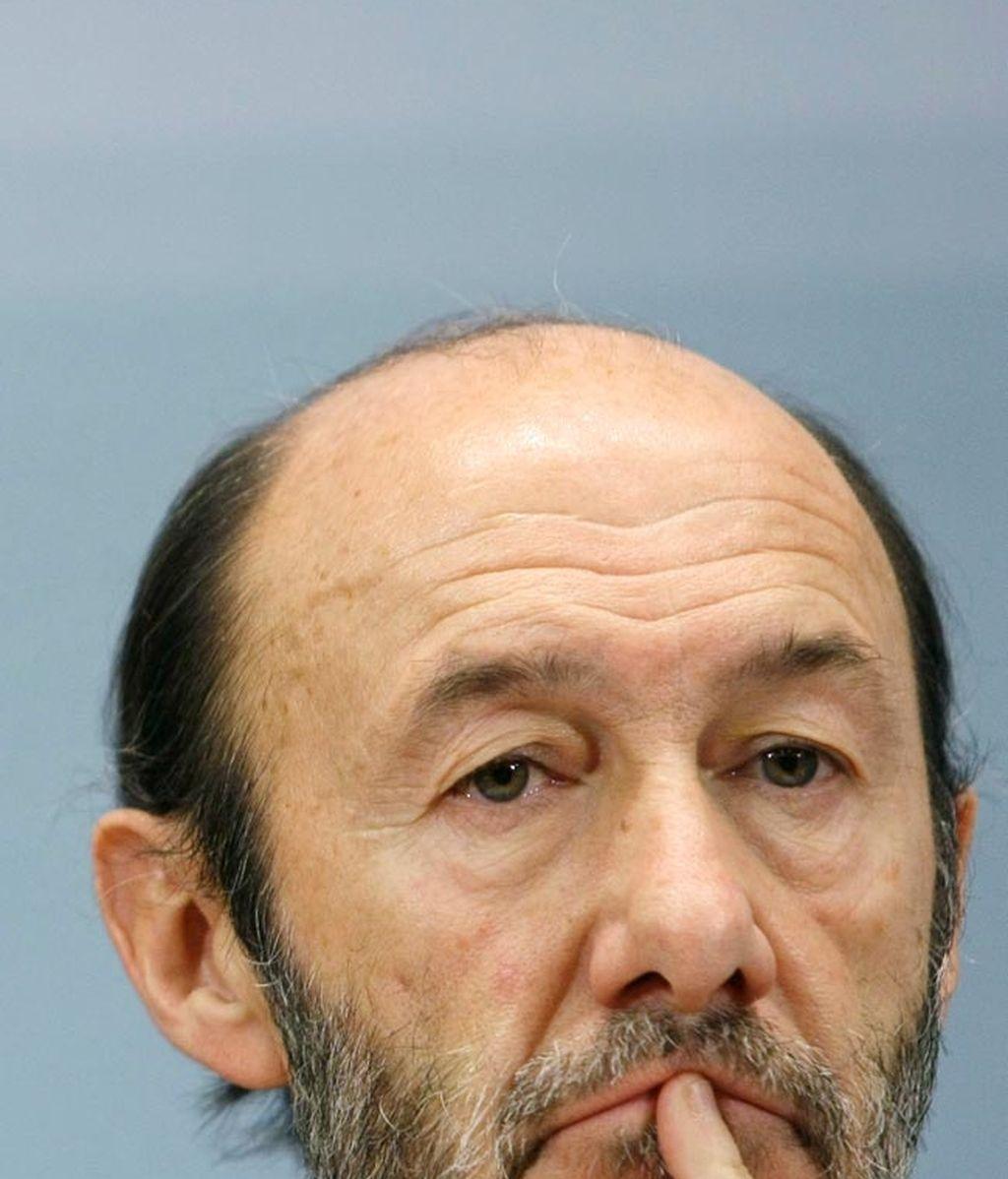 Alfredo Pérez Rubalcaba - Ministro de Interior