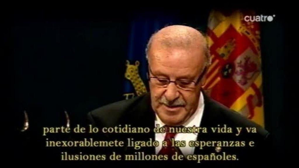 El gran discurso de Vicente Del Bosque