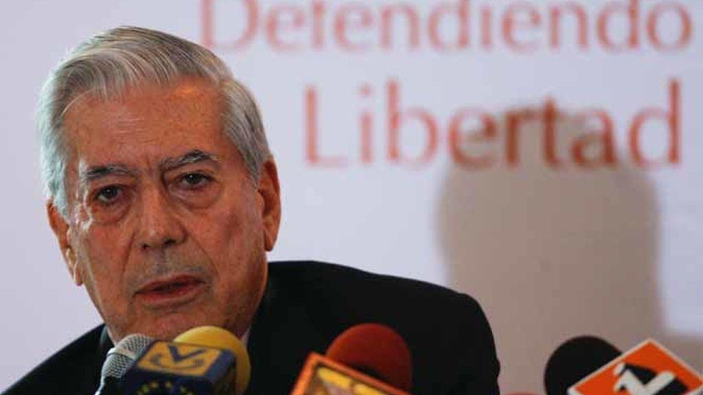 Vargas Llosa en Venezuela