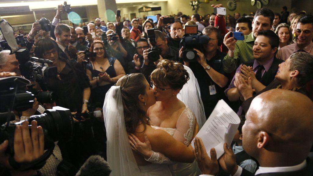 Primera pareja homosexual en contraer matrimonio Colorado, EEUU