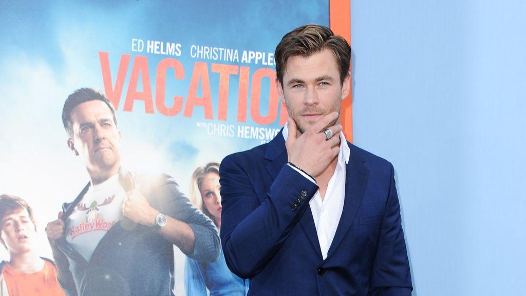 """Chris Hemsworth en la premiere de la comedia """"The Vacation"""""""