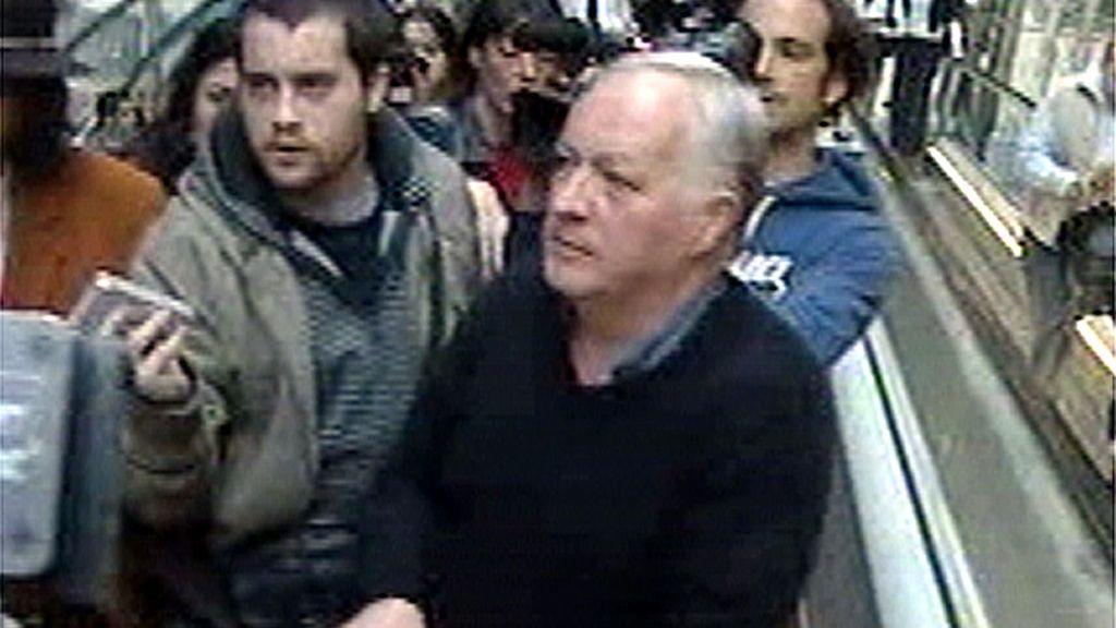 'Pepe el del Popular' a su llegada a España