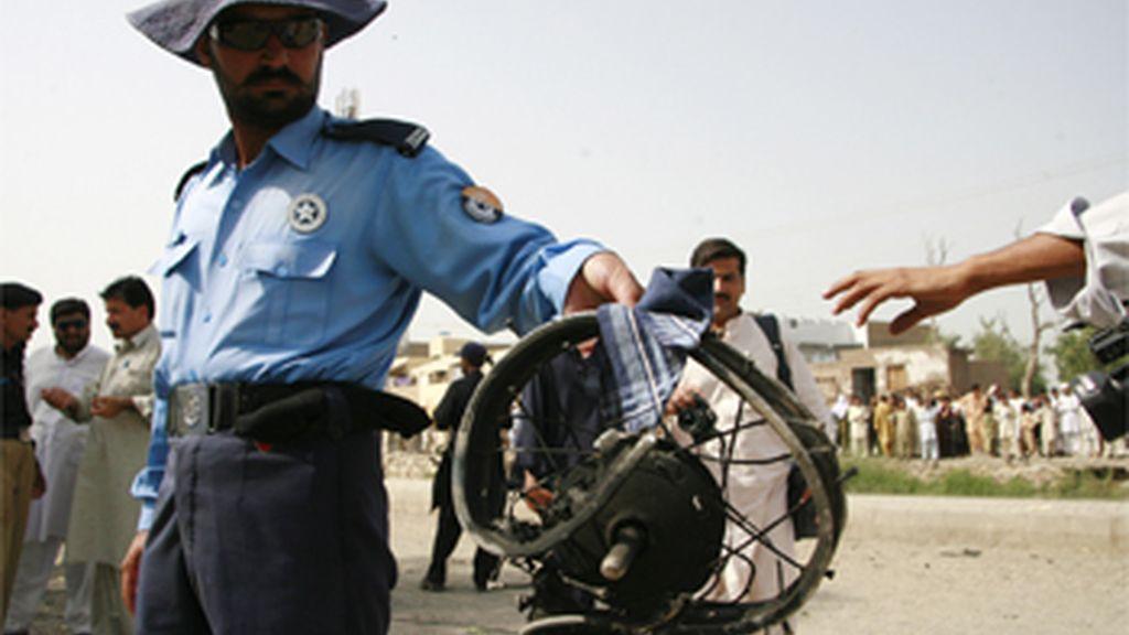 Policía pakistaní