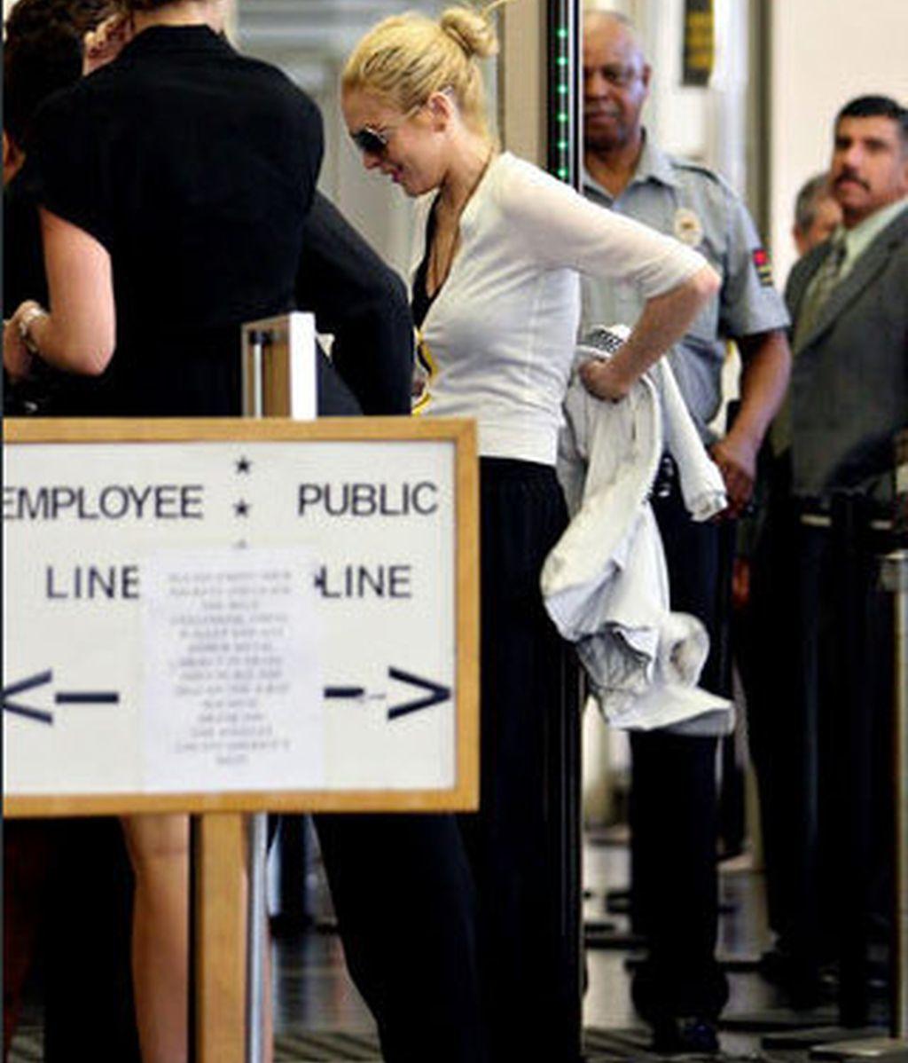 Lindsay Lohan acude al juzgado de Berverly Hills