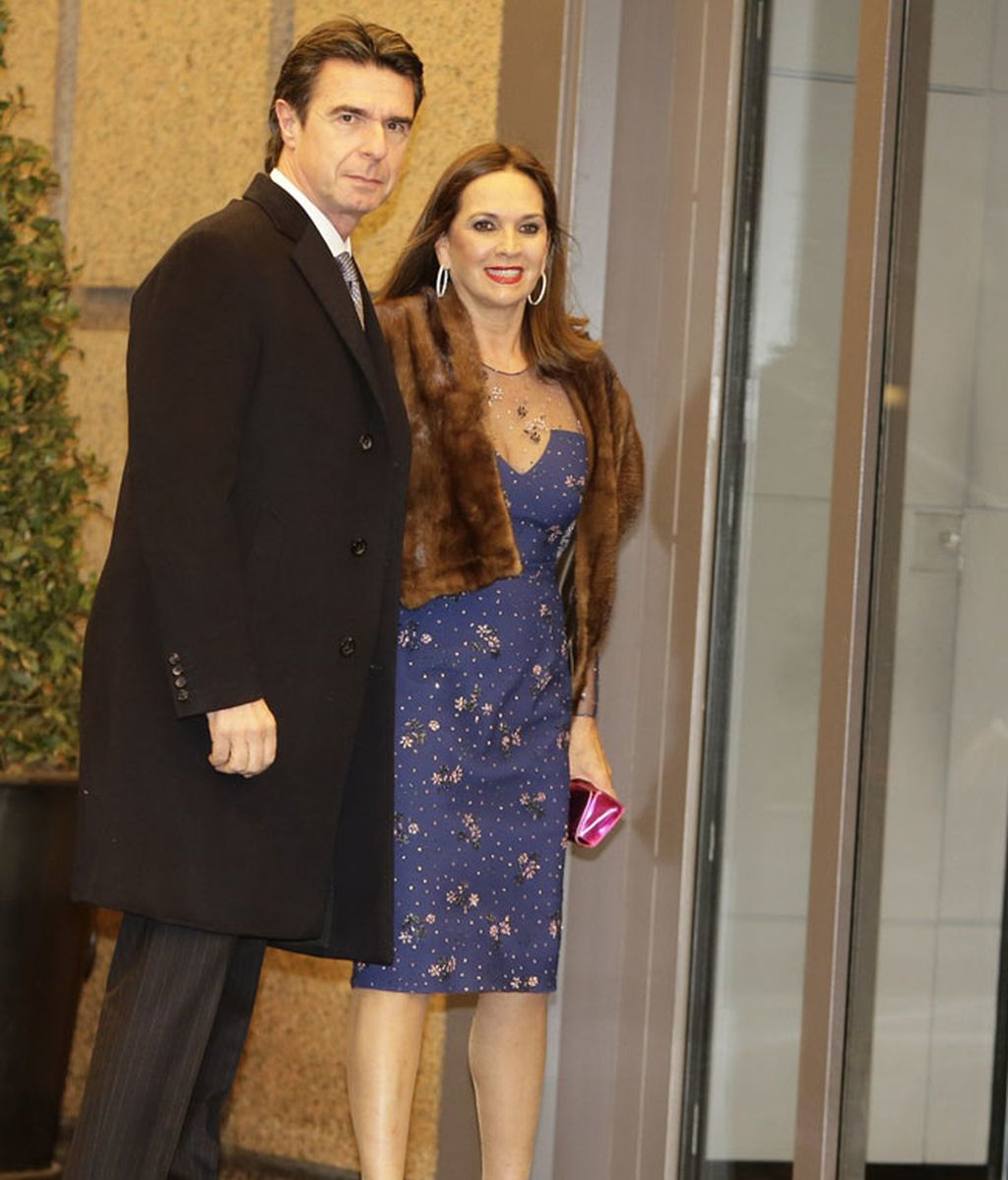 José Manuel Soria y su mujer