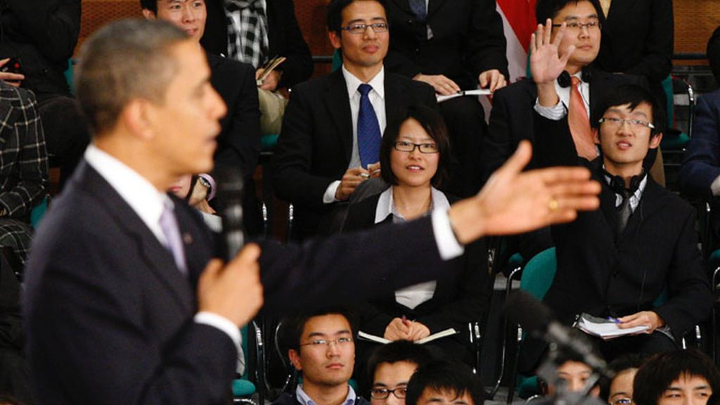 Obama responde a universitarios chinos