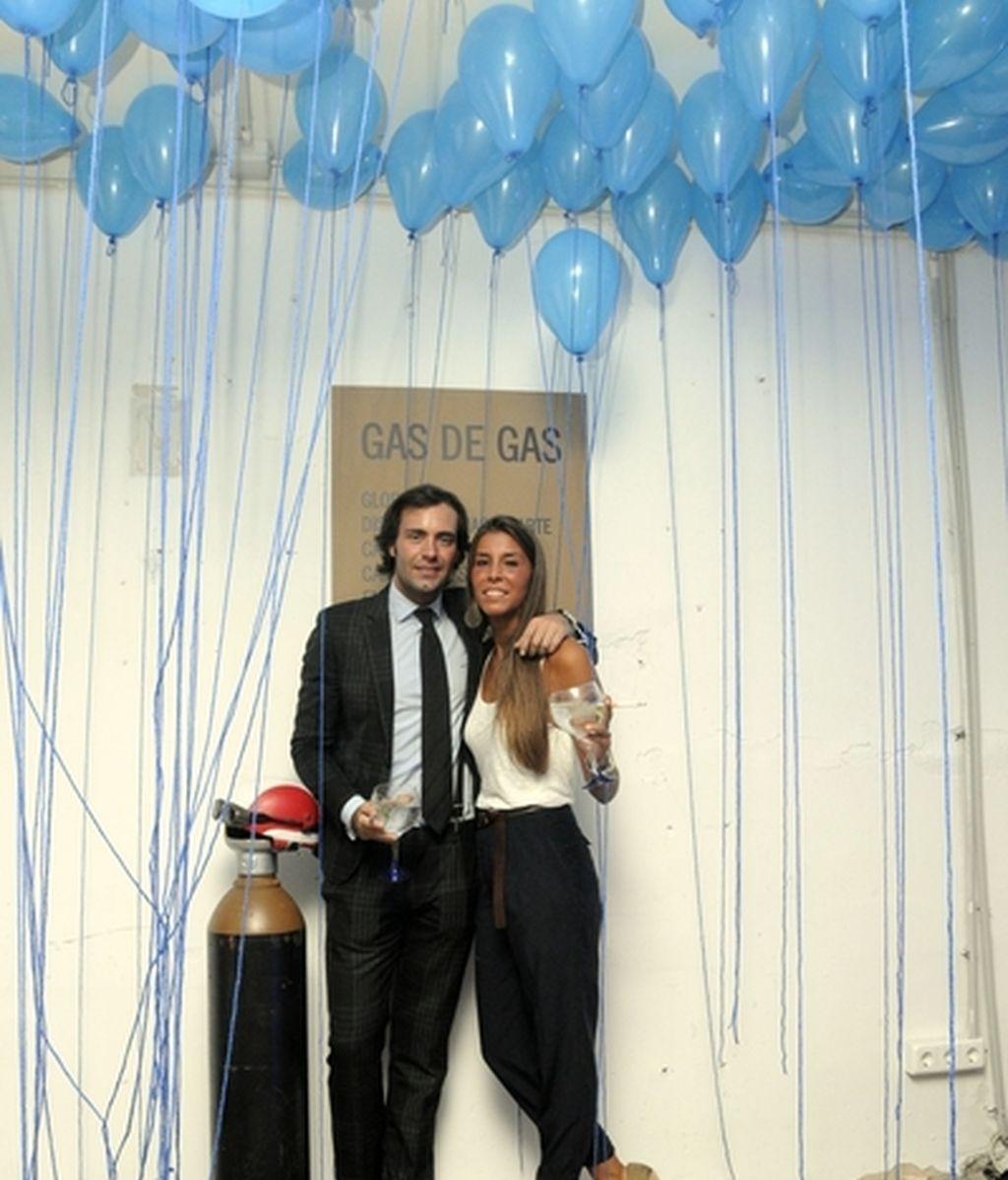Alejo Sauras, Blanca Suárez y David Delfín, en la noche más azul