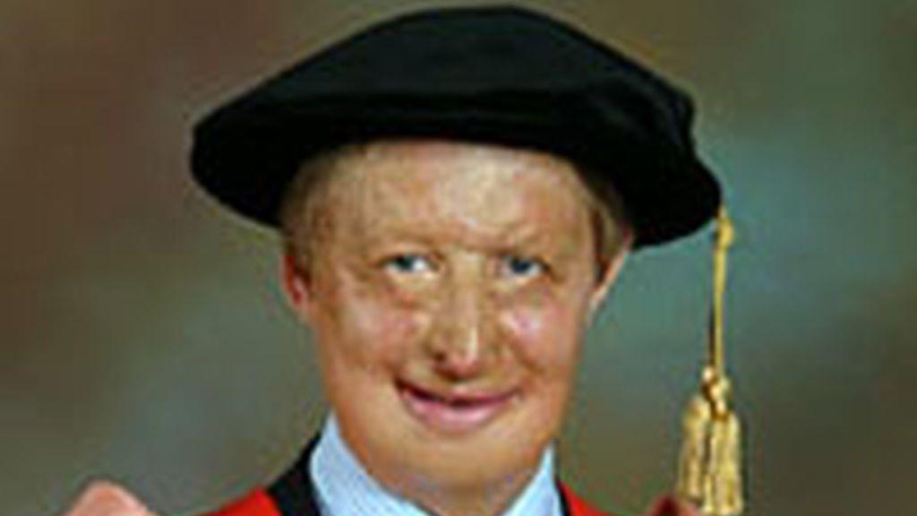 James Partridge, el presentador que se encargará durante una semana de presentar Five Channel