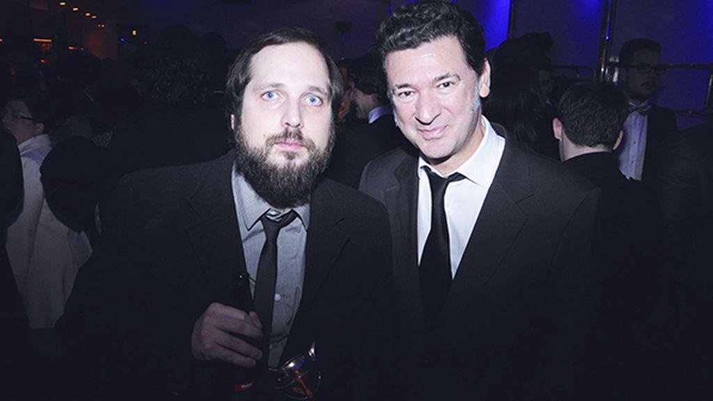 Los directores Carlos Vermut y Julio Medem