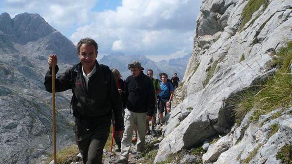 Jesús Calleja graba en primera persona la experiencia con Zapatero