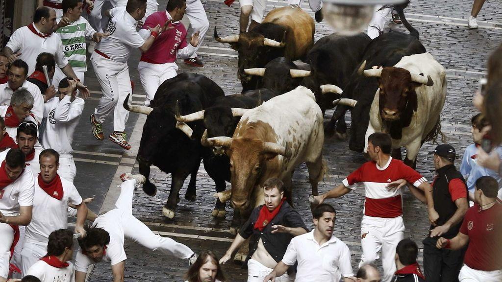 Los Garcigrande debutan con dos heridos por asta de toro