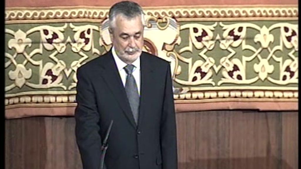 Griñan investido nuevo presidente de la Junta