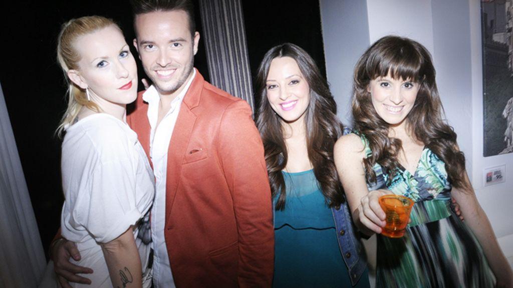 Cristina Juan, Oscar Repo, Alicia Rodríguez y Natacha Nazer