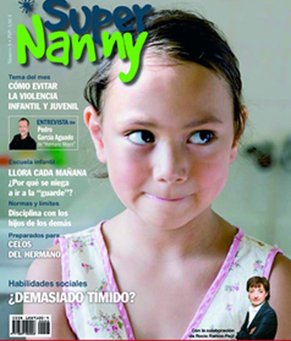 Portada de septiembre de la revista Supernanny
