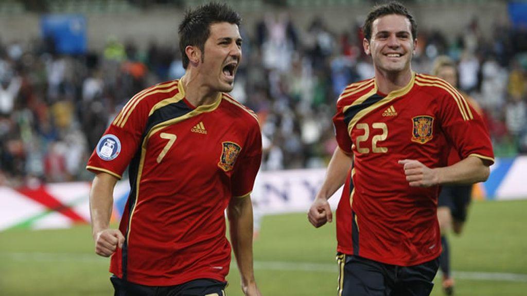 España gana a Irak (1-0) y se mete en semifinales