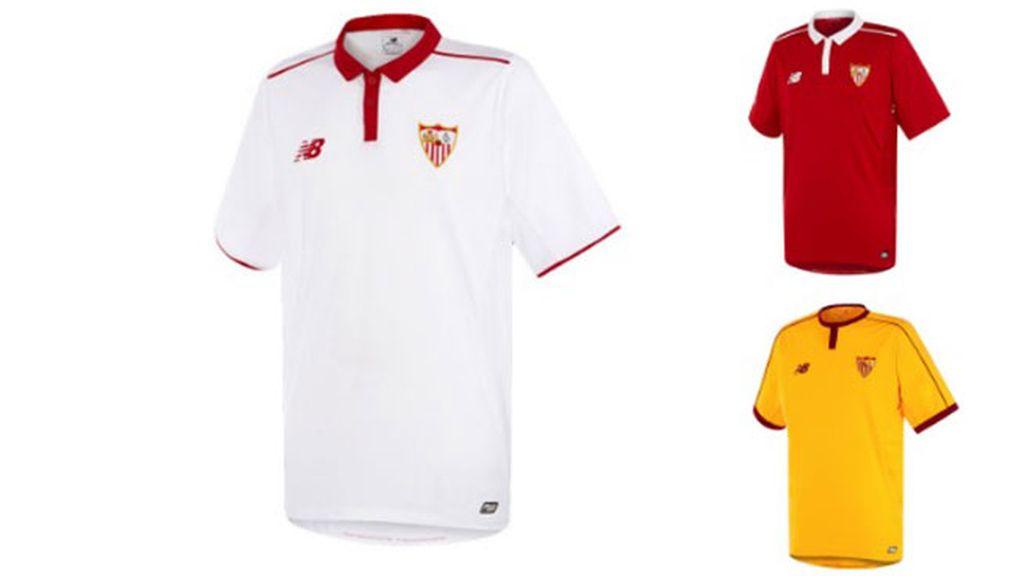 Equipación del Sevilla en la temporada 2016/2017