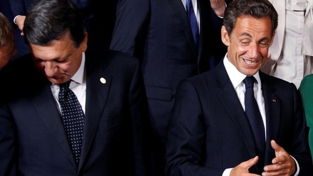 Duro enfrentamiento entre Sarkozy y Barroso