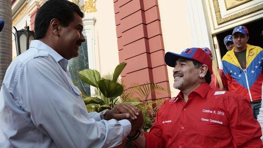 """Maduro subraya que Venezuela cuenta con """"libertades plenas"""""""