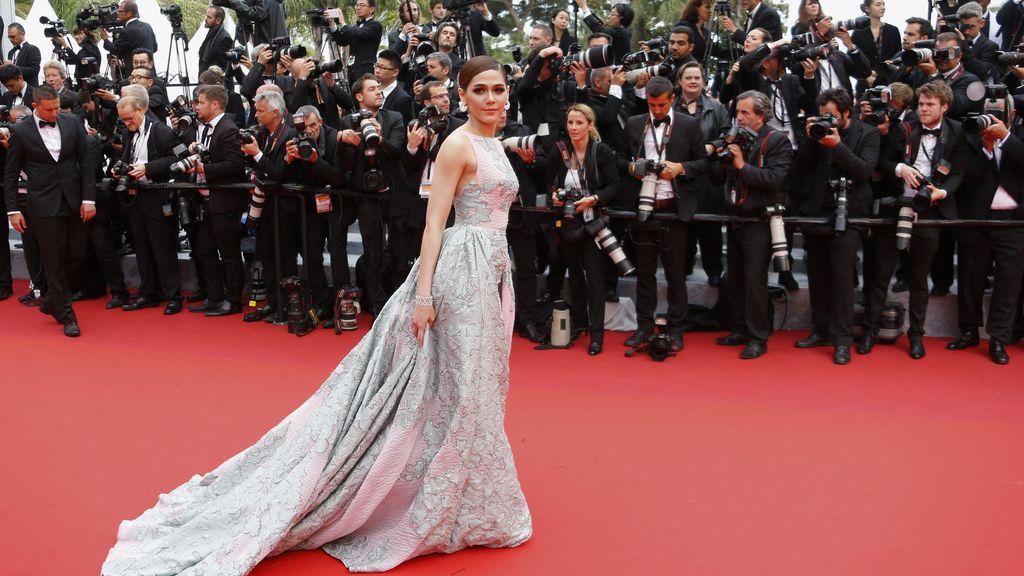 Araya A. Hargate en Cannes
