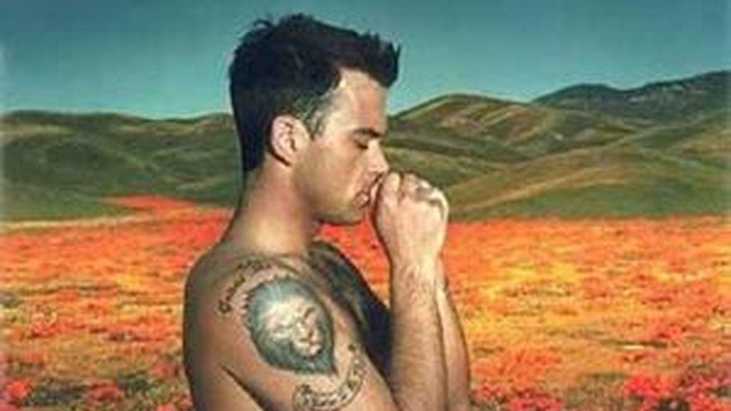 Robbien Williams en una imagen de archivo.