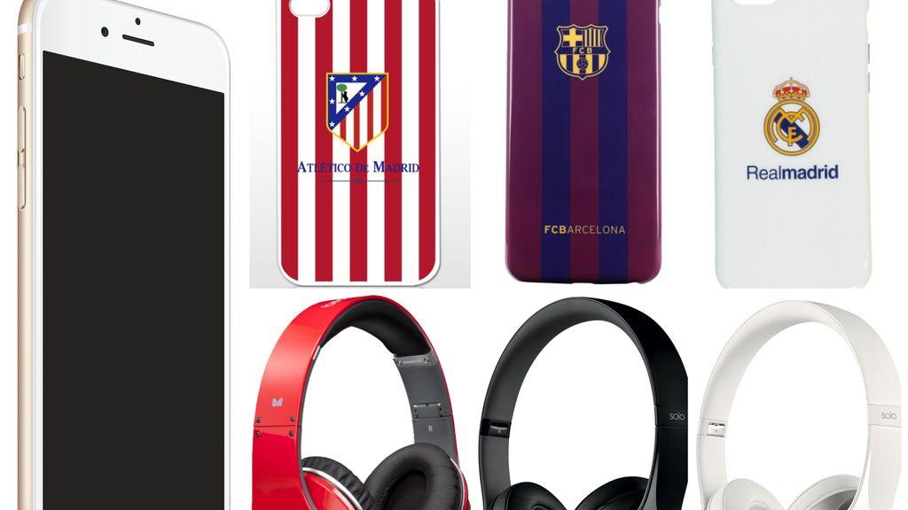¡¡Consigue el pack más completo: iphone6 + carcasa de fútbol + auriculares!!
