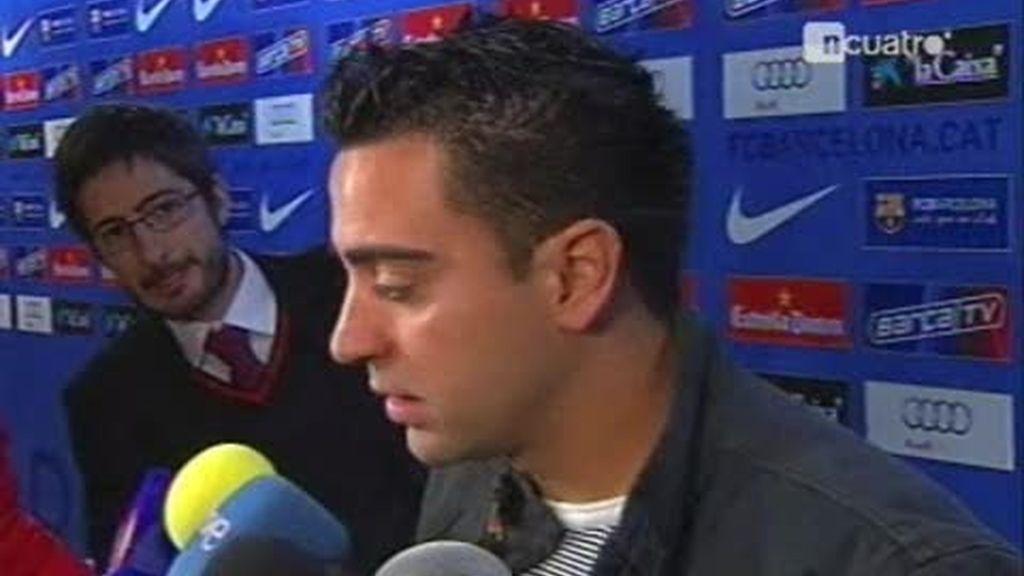 Las opiniones del penalti contra Xavi