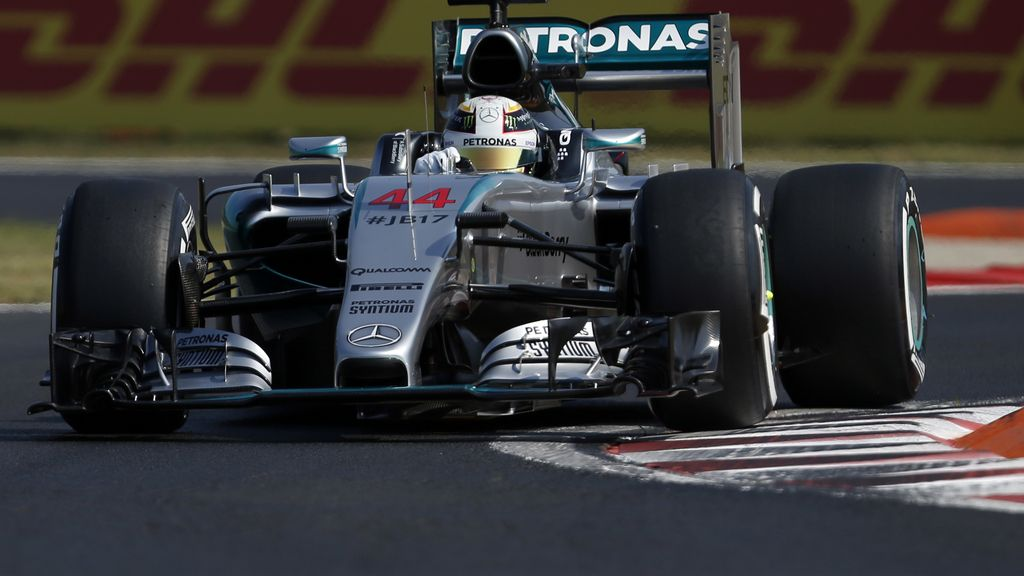 Hamilton sigue mandando en Hungaroring en los terceros libres