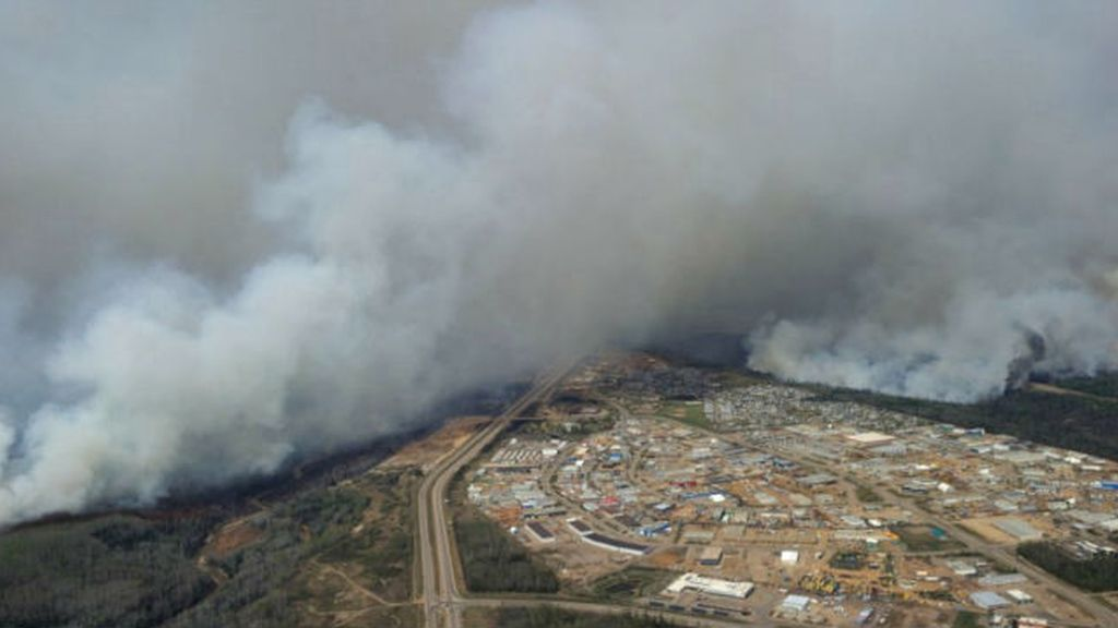 incendio Canadá, Fort McMurray, Alberta