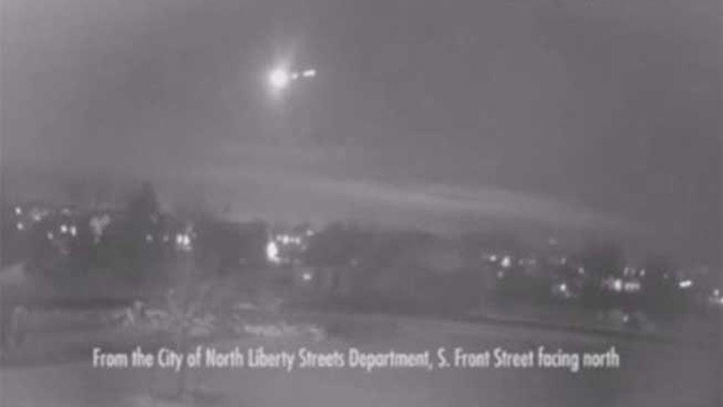 Un meteorito ilumina el cielo de Iowa