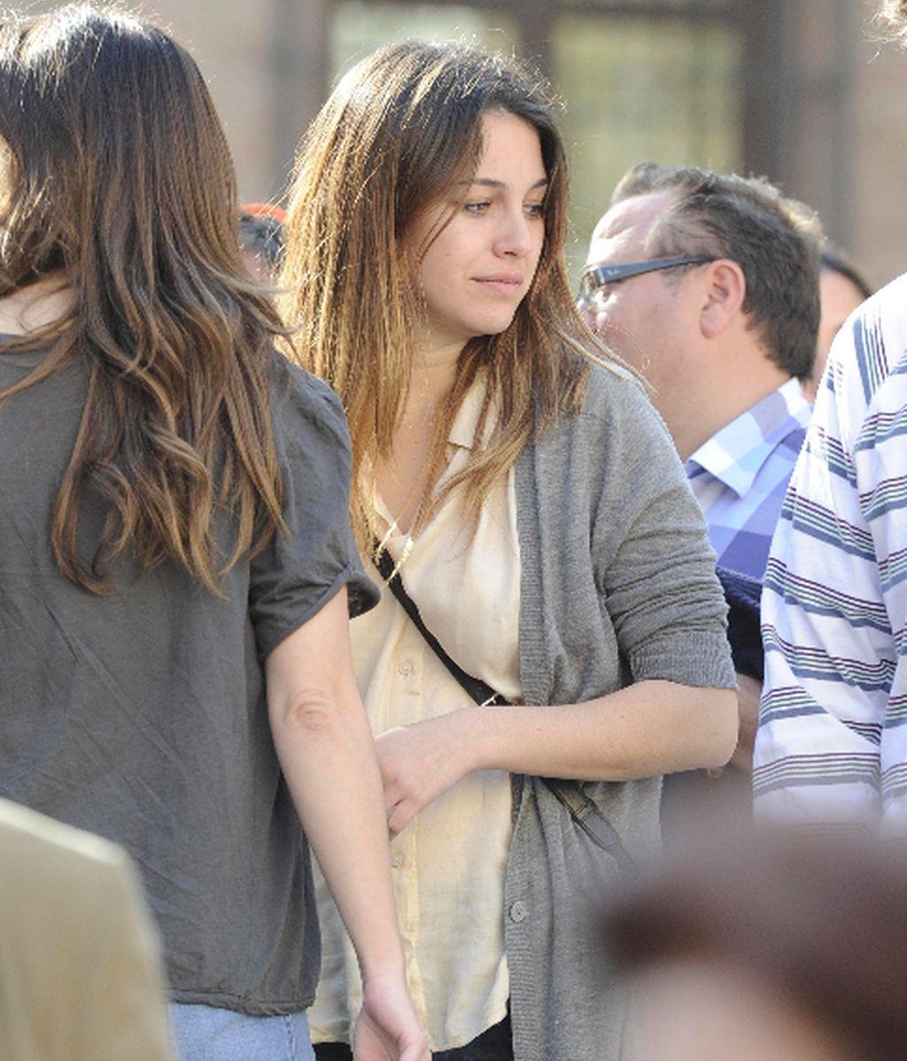 ¡Ops! Blanca Suárez de la mano de otro...