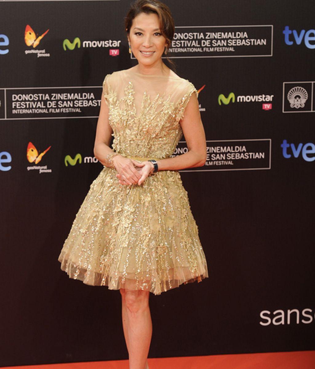 La actriz Michelle Yeoh