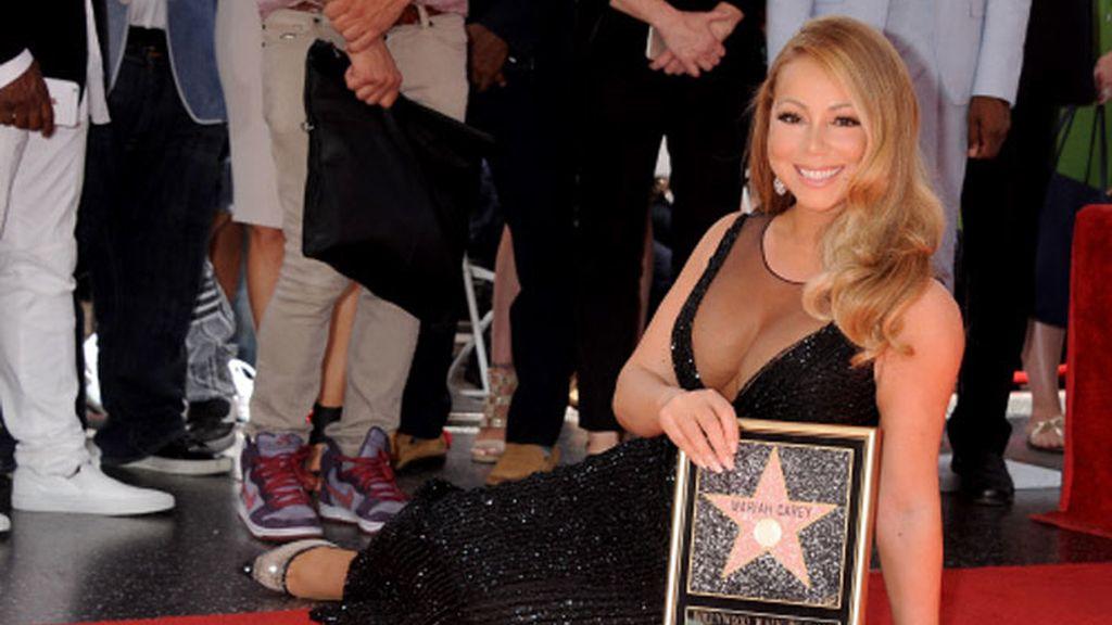 Mariah Carey ya tiene su estrella en el Paseo de la Fama de Hollywood