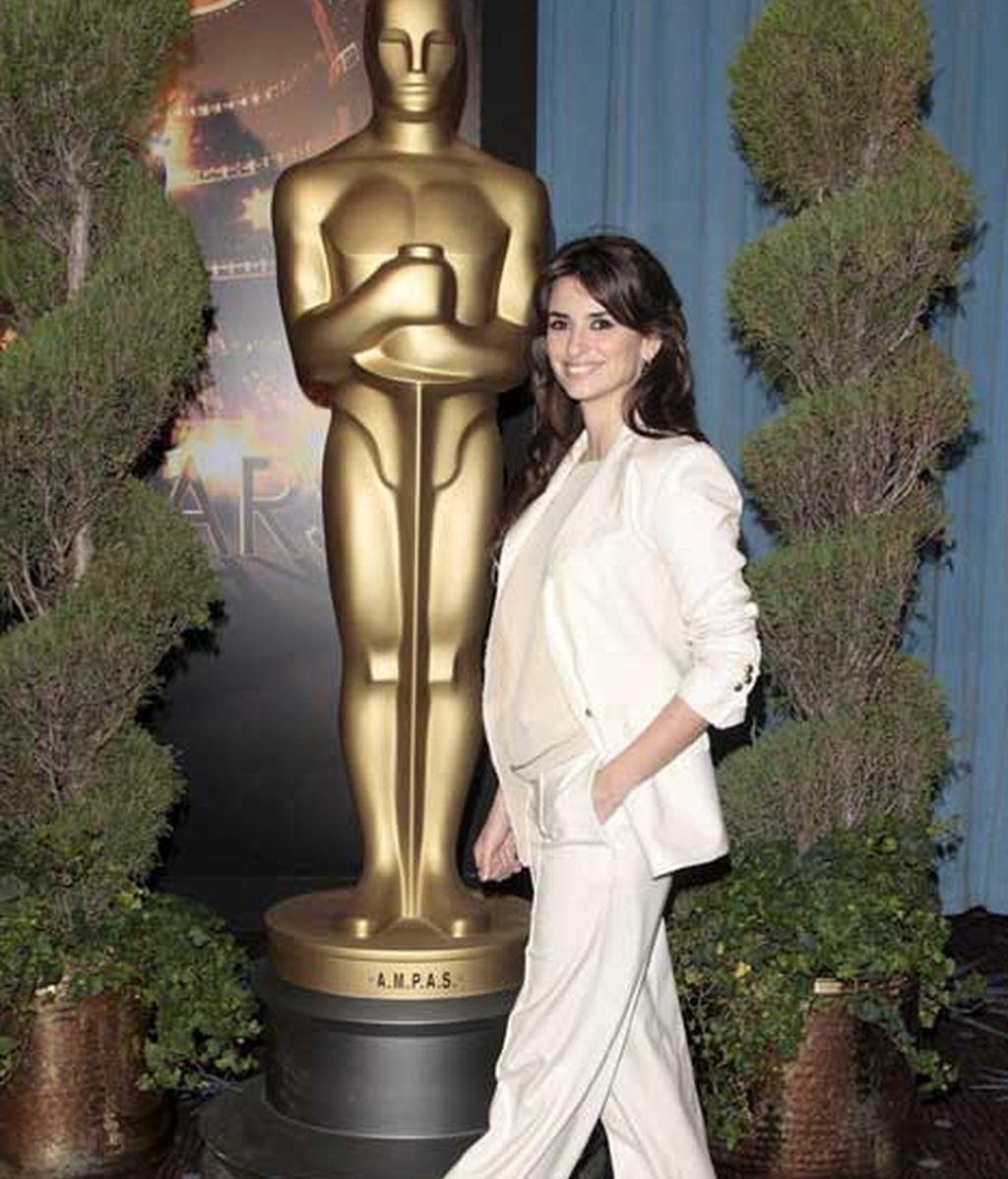 Pe asiste a la comida con los candidatos a los Oscar