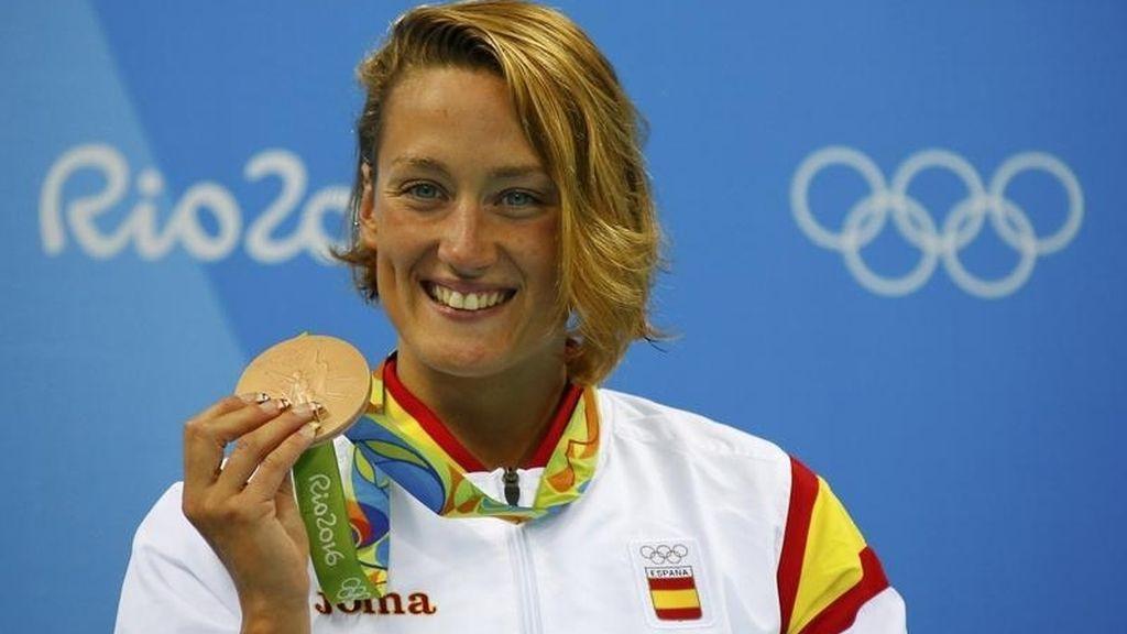 Mireia Belmonte, bronce