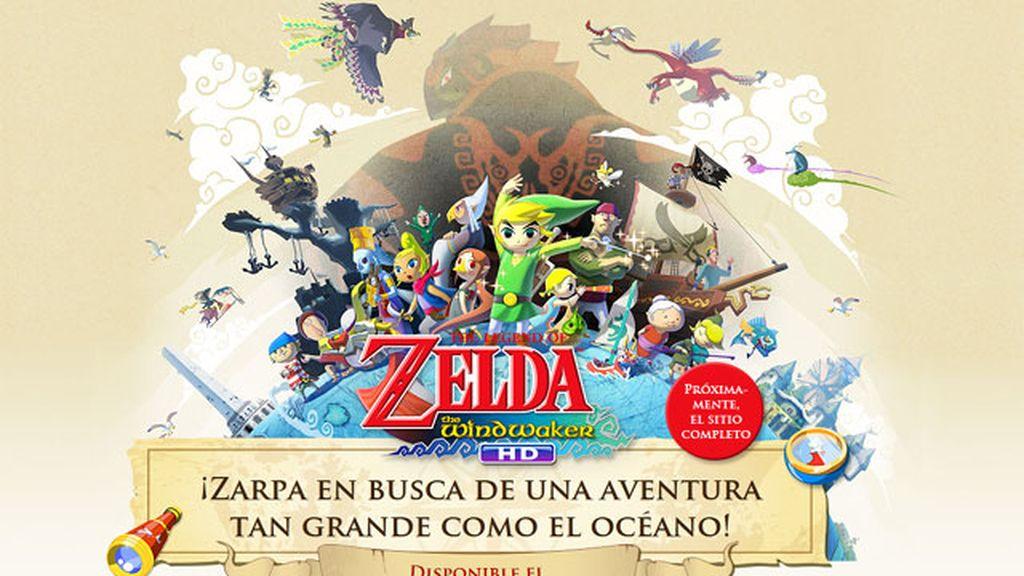 Zelda, nuevo juego para Nintendo