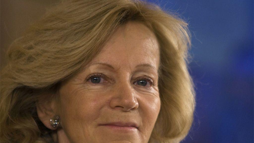 Elena Salgado, vicepresidenta económica