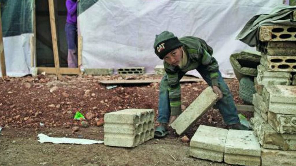 Trabajo infantil en Siria